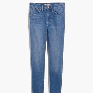 """Madewell Petite 9"""" Rise Skinny Jeans Size 24P"""